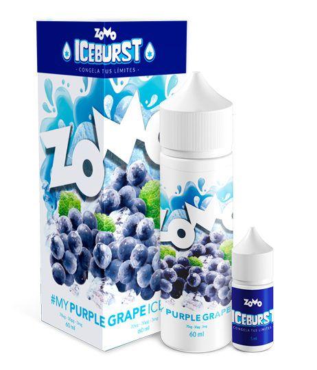 #My Purple Grape Ice Zomo Iceburst 60mL - Zomo
