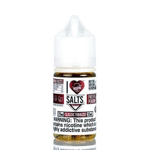 Nic Salt I Love Salts Classic Tobacco - Mad Hatter Juice