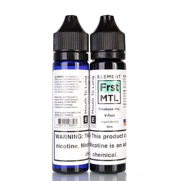 Juice Element Frst MTL V-Frost 60mL - Element E-Liquids