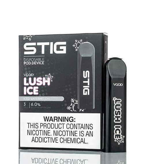 STIG Vape Pod Descartável Lush Ice C/3un. - VGOD