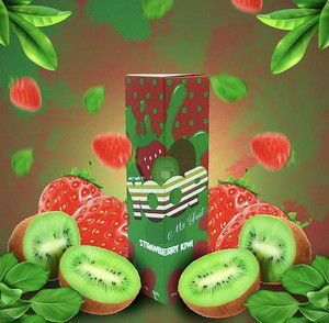Juice Yoop Strawberry Kiwi 60mL - Yoop Vapor