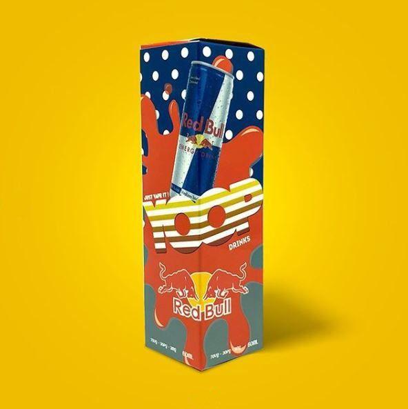 Juice Yoop Red Bull 60mL - Yoop Vapor