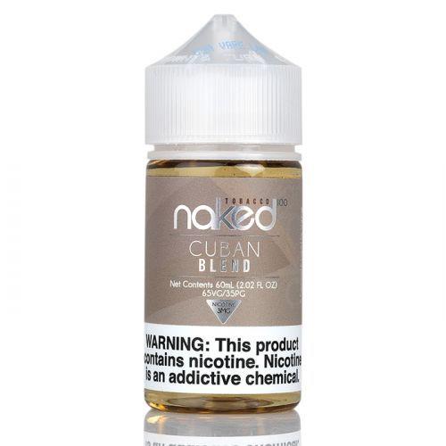 Juice Naked Cuban Blend 60mL - Naked 100 Tobacco