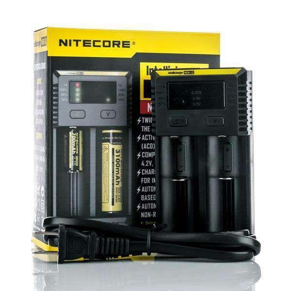 Carregador Nitecore New I2 Baterias Vape - Nitecore