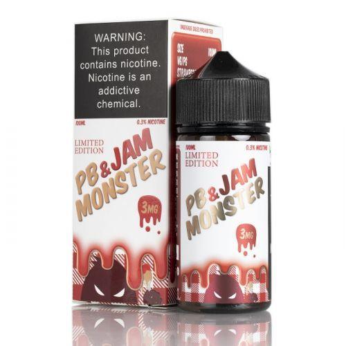 PB & Jam Monster Strawberry 100mL - Monster Vape Labs