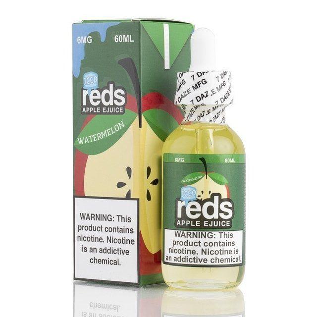 Reds Apple eJuice Watermelon ICED - 7DAZE