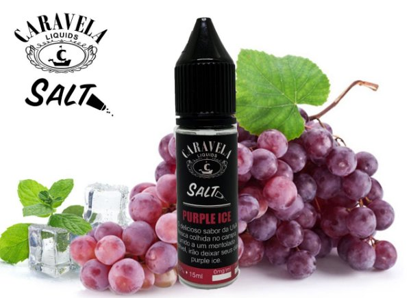 NicSalt Purple Ice 15mL - Caravela Liquids