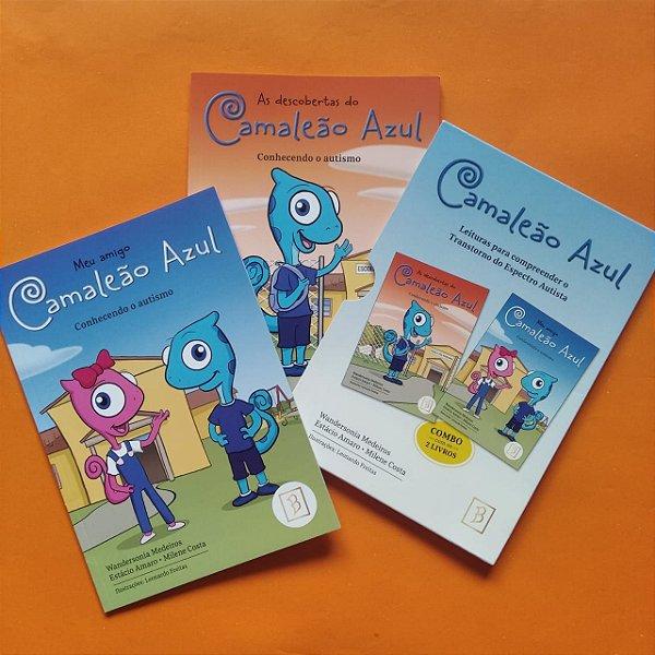 Camaleão Azul - Leituras para compreender o Transtorno do Espectro Autista