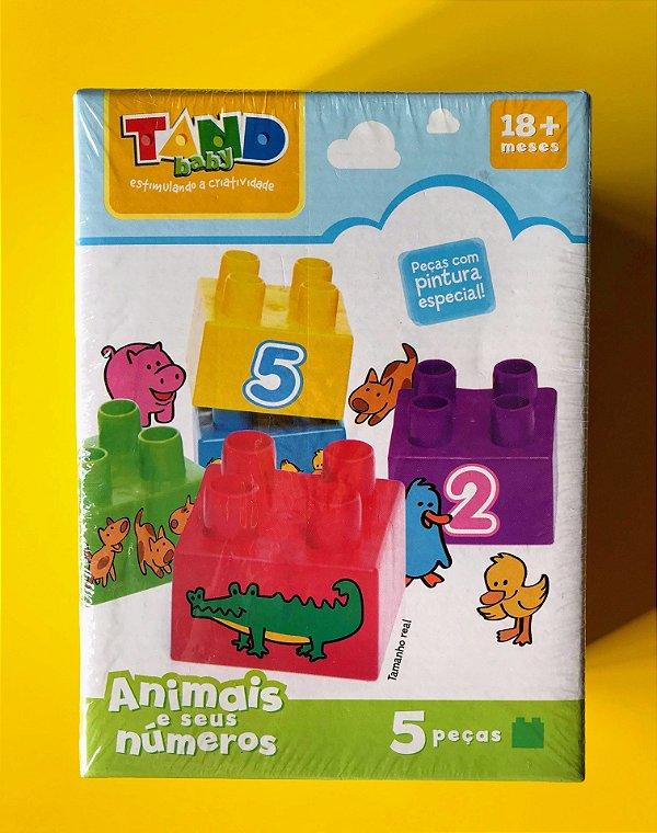 Tand Baby- Animais e seus números