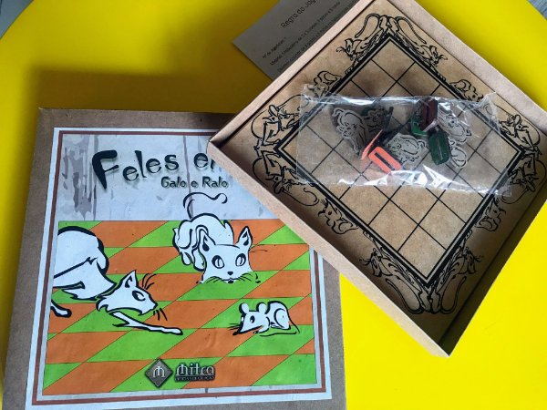 O jogo do Gato e Rato (Feles et Mus)