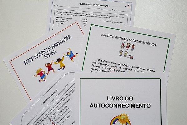 Combo Criança de Materiais de Intervenção em Psicologia/ Psicopedagogia - Produto digital