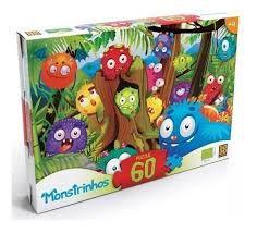Puzzle 60 peças Monstrinhos