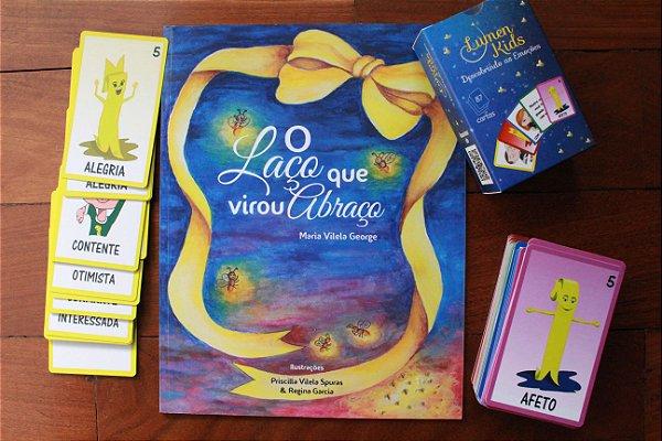 Combo Lumen Kids Jogo + Livro
