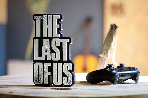 PLACA DECORATIVA - THE LAST OF US