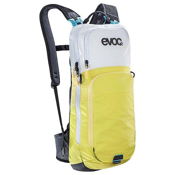 Mochila Cc 10 Litros + Bolsa de Hidratação 2 Litros Branco com Verde