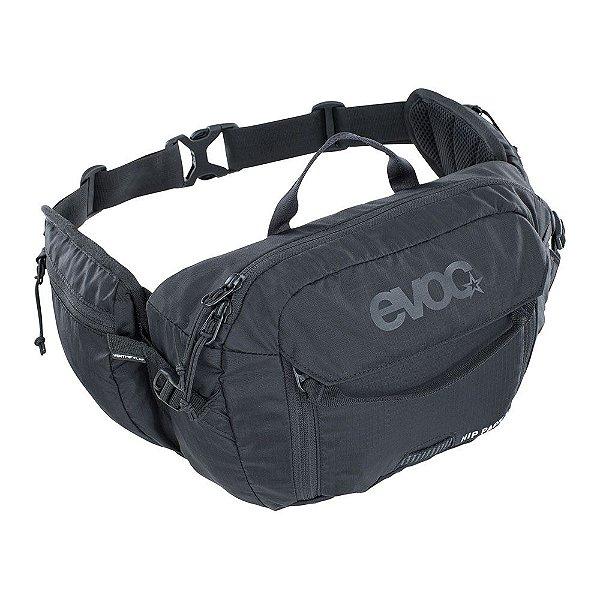 Hip pack 3 l + bolsa de hidratação 1.5l preto