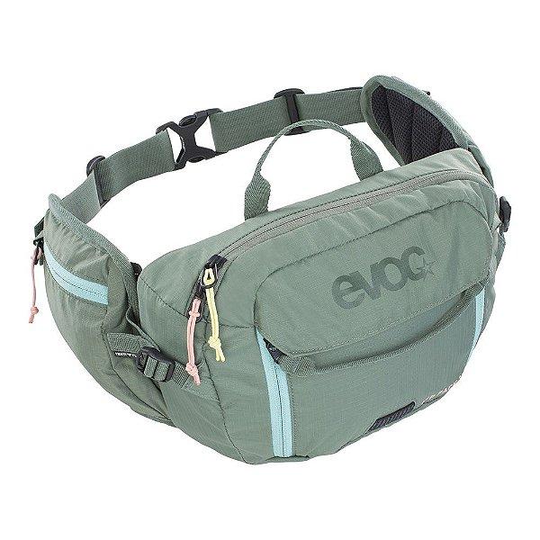 Hip pack 3 l + bolsa de hidratação 1.5l verde oliva