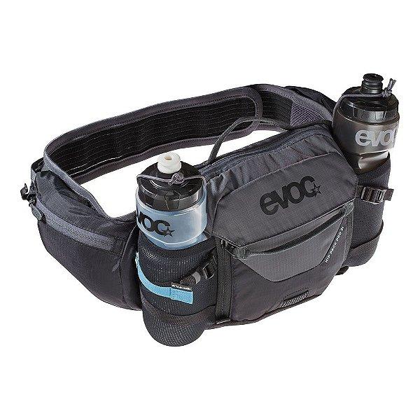 Hip Pack PRO 3 l + bolsa de hidratação 1.5l preto/cinza carbono