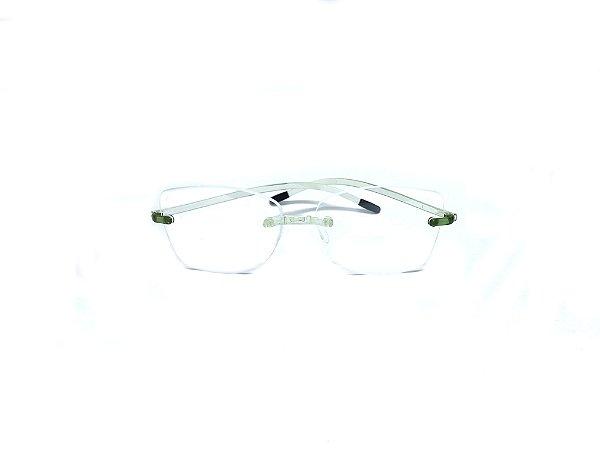 Armação ÓCULOS DE GRAU Marca: SWISSFLEX Material: NYLON Modelo: SFC5/10 Cor: Verde  Tamanho:55x19 Haste:145