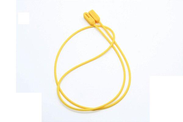 CORRENTE SICUREZZA SILICONE Modelo: GRIP cor Amarelo