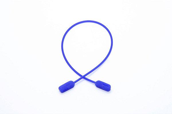 CORRENTE SICUREZZA SILICONE Modelo: GRIP JÚNIOR cor Azul Royal