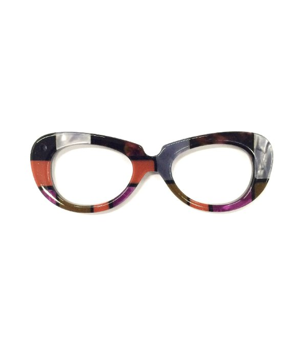 PINGENTE OCCHIALINI Modelo: VINTAGE Cor Mondrian
