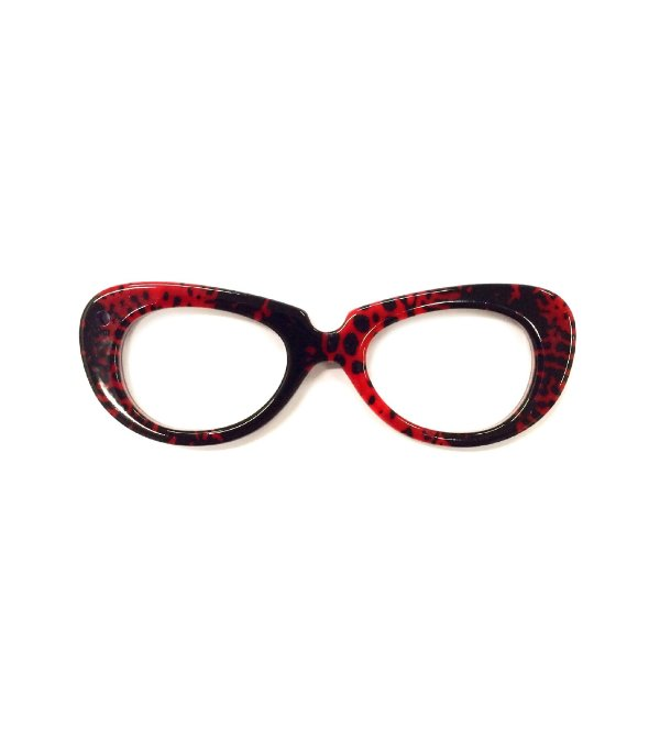PINGENTE OCCHIALINI Modelo: VINTAGE Cor Rosso