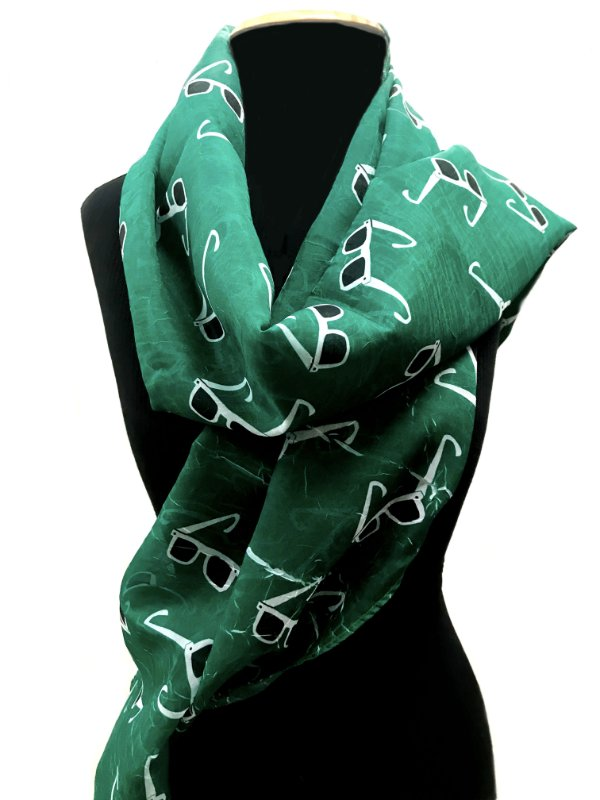ECHARPE Modelo: STRACCIATTINA  cor Verde