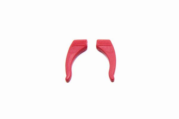 SNUG Silicone regulador de haste cor Vermelho