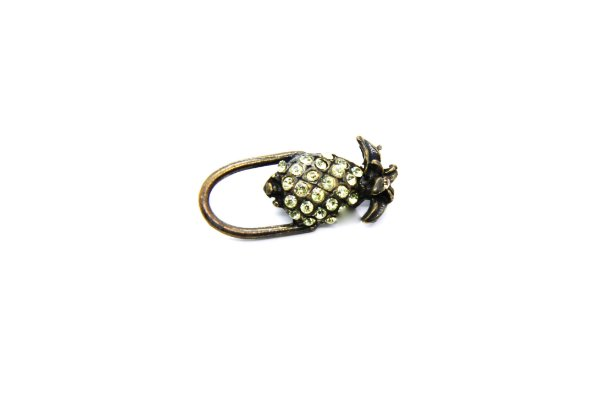 BROCHE Modelo:  Abacaxi Strass
