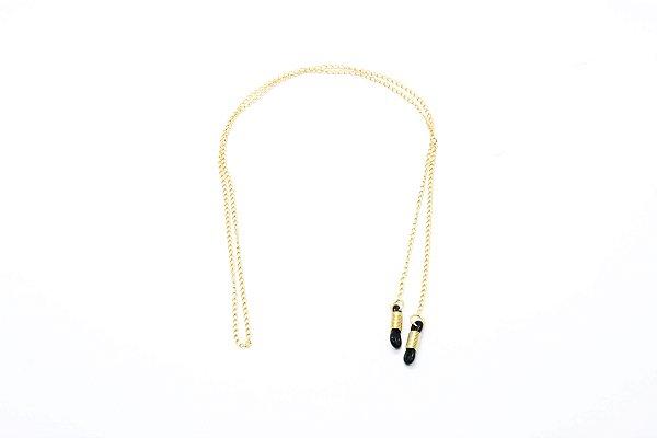 CORRENTE Metal Modelo LM 026 Cor Ouro