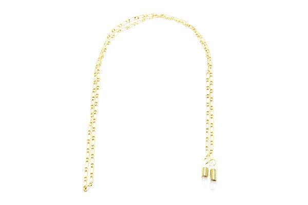 CORRENTE Metal Modelo A 096 Cor Ouro