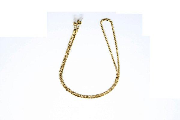 CORRENTE Metal ESPECIAL Modelo 865 Cor Ouro