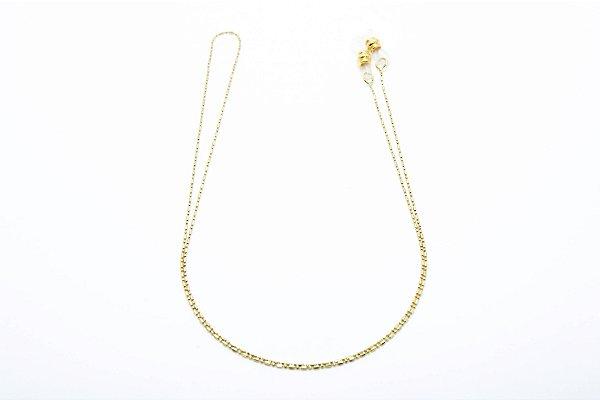 CORRENTE Metal ESPECIAL Modelo 1015 Cor Ouro