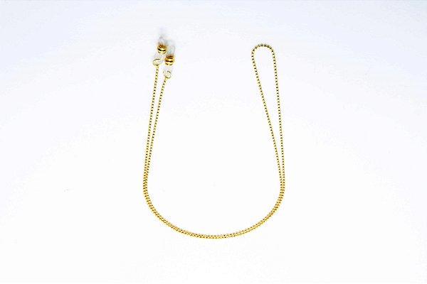 CORRENTE Metal ESPECIAL Modelo 5063 Cor Ouro