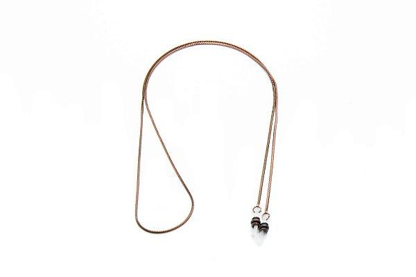 CORRENTE Metal Modelo: C-056 cor Cobre Velho