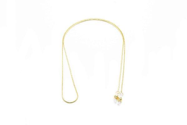 CORRENTE Metal Modelo: C-056 cor Ouro