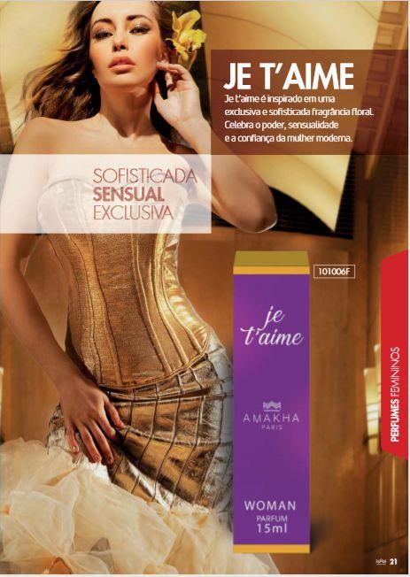 7e156ef07 JET'AIME 15ml (Inspiração J'adore Dio) - Paris cosmético Mundial
