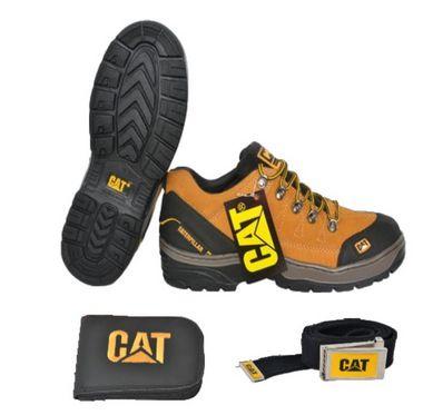 387322e7cc Bota Catérpillar Cano Curto Adventure Oferta Kit CAT - Calcados GB