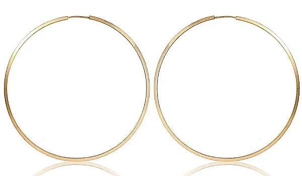 Brinco 1.0cm Redondo - Ouro 18k
