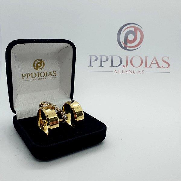 Kit Promocional - 3 camadas de ouro 18k