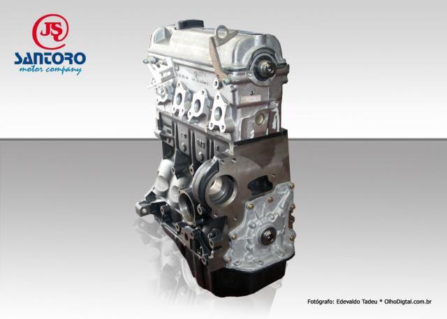 Motor VW 1.0 8V Gol Novo Parcial  Gasolina