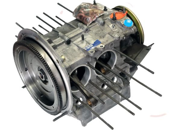 MIOLO MOTOR MONTADO VW 1300 / 1500 / 1600