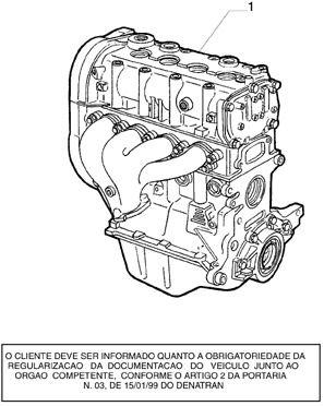MOTOR NOVO ORIGINAL FIAT 1.6 16V NOVO PALIO/PALIO WEEKEND