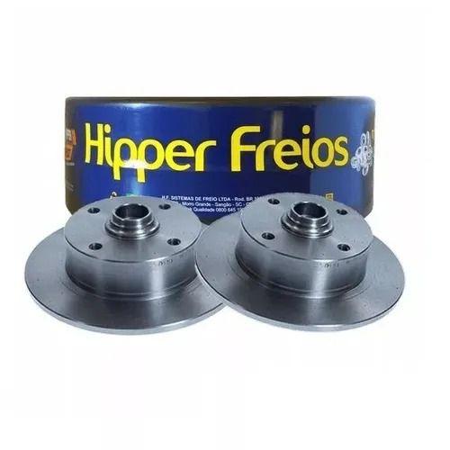 DISCO FREIO DIANTEIRO SOLIDO C/ CUBO 278MM 4 FUROS HF09 HIPPER FREIOS