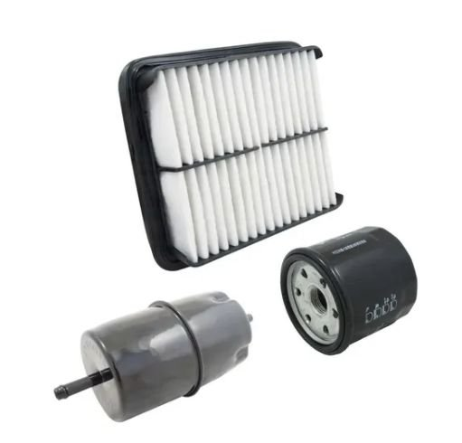 Kit de Filtros (Combustível, Ar e Óleo) | Towner Jr, Effa Picape e Van