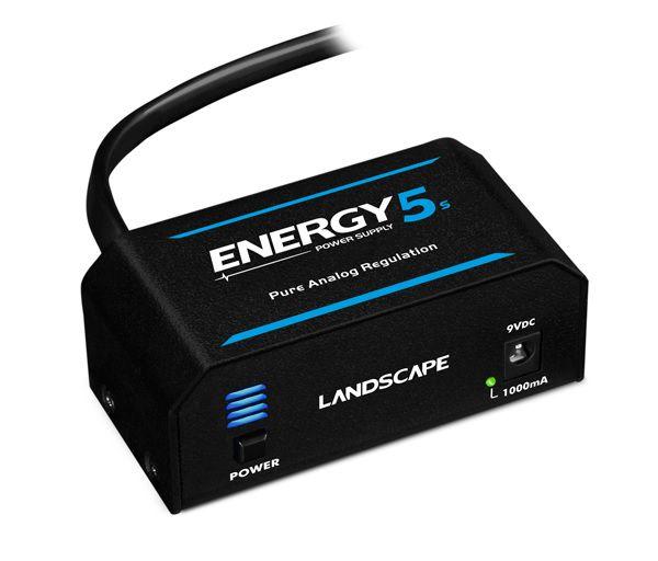 Fonte para pedais Landscape Energy 5s 1000mA para 5 pedais