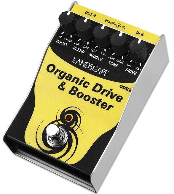 Pedal de efeito Landscape drive Organic Drive & Booster ODB2