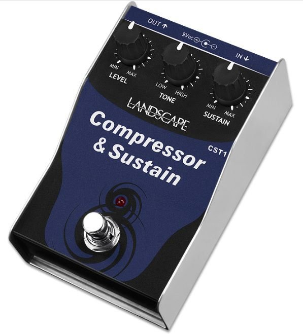 Pedal de efeito Landscape compressor Compressor & Sustain CST1