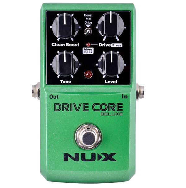 Pedal de efeito Nux overdrive Drive Core Deluxe